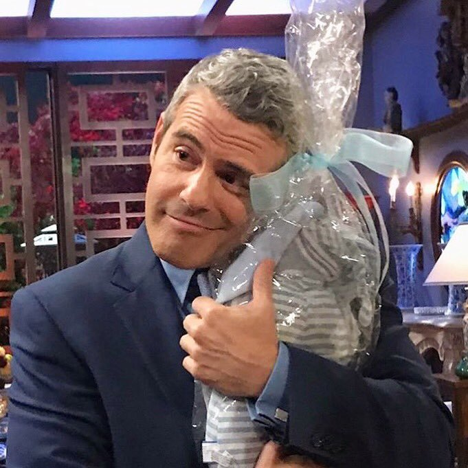 Andy Cohen bunny