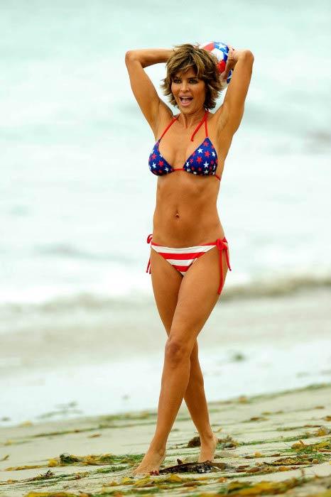 Lisa Rinna body